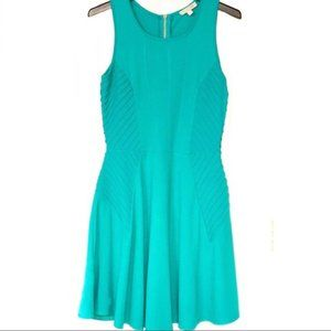 Gianni Bini Teal Fit and Flare Dress